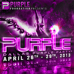 Dallas Purple Party